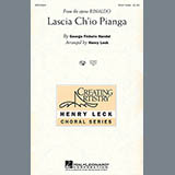 Download or print George Frideric Handel Lascia Ch'io Pianga Sheet Music Printable PDF 11-page score for Classical / arranged 3-Part Treble Choir SKU: 99111.