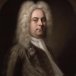 George Frideric Handel 'Presto (from The Water Music Suite)' 3-page score for Classical / arranged Piano Solo SKU: 104510.
