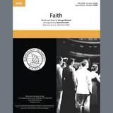 Download George Michael 'Faith (arr. Kohl Kitzmiller)' Printable PDF 11-page score for Barbershop / arranged SSAA Choir SKU: 406819.
