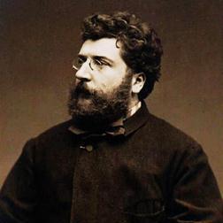 Download Georges Bizet 'Au Fond Du Temple Saint' Printable PDF 3-page score for Classical / arranged Piano Solo SKU: 117255.