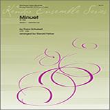 Download or print Gerald Felker Minuet (D. 334) - 1st Tuba Sheet Music Printable PDF 3-page score for Classical / arranged Brass Ensemble SKU: 376415.