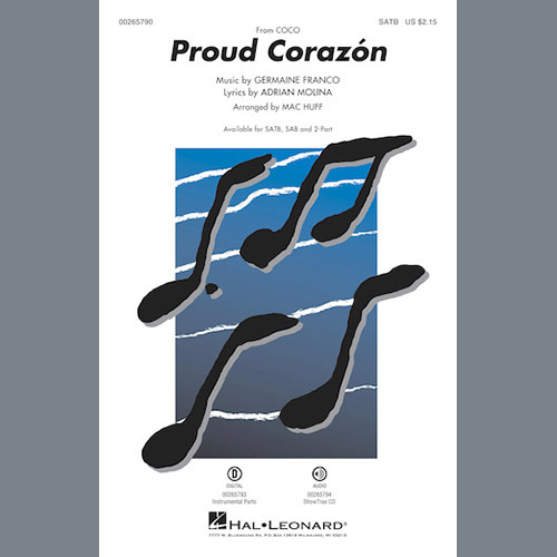 Easily Download Germaine Franco & Adrian Molina Printable PDF piano music notes, guitar tabs for Choir Instrumental Pak. Transpose or transcribe this score in no time - Learn how to play song progression.