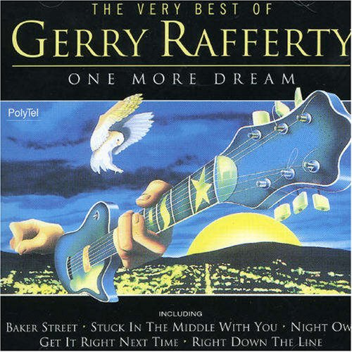 Gerry Rafferty, Moonlight And Gold, Piano, Vocal & Guitar (Right-Hand Melody)