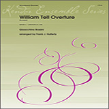 Download Gioacchino Rossini 'William Tell Overture (excerpts) (arr. Frank J. Halferty) - Flute' Printable PDF 4-page score for Classical / arranged Woodwind Ensemble SKU: 412420.