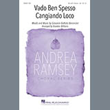 Download Giovanni Battista Bononcini 'Vado Ben Spesso Cangiando Loco (arr. Brandon Williams)' Printable PDF 6-page score for Concert / arranged TB Choir SKU: 410504.