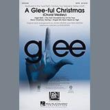 Download or print Glee Cast A Glee-ful Christmas (Choral Medley)(arr. Mark Brymer) - Baritone Sax Sheet Music Printable PDF 5-page score for Christmas / arranged Choir Instrumental Pak SKU: 302977.