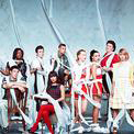 Download Glee Cast 'Home' Printable PDF 5-page score for Film/TV / arranged Piano, Vocal & Guitar (Right-Hand Melody) SKU: 103311.