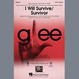 Download Glee Cast 'I Will Survive/Survivor (arr. Mark Brymer)' Printable PDF 19-page score for Pop / arranged 3-Part Mixed Choir SKU: 411028.