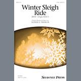 Download or print Glenda E. Franklin Winter Sleigh Ride (With Jingle Bells) Sheet Music Printable PDF 9-page score for Christmas / arranged 2-Part Choir SKU: 195652.