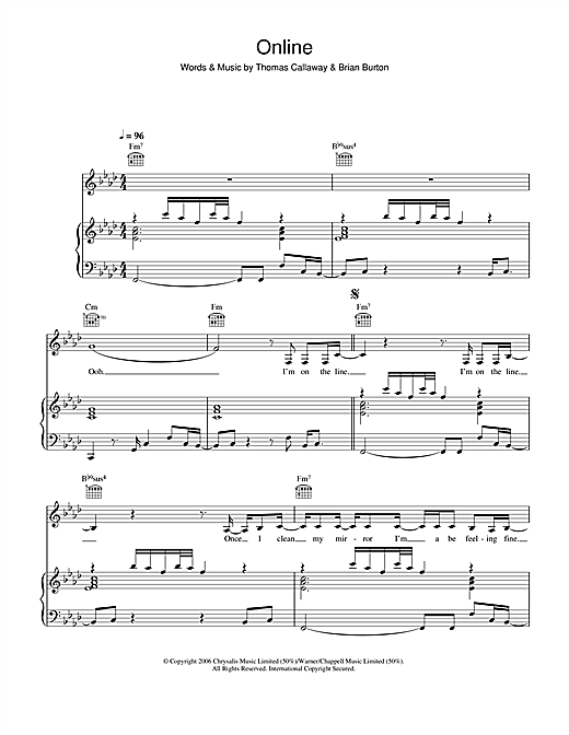 Gnarls Barkley Online sheet music notes and chords. Download Printable PDF.