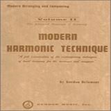 Download Gordon Delamont 'Modern Harmonic Technique, Volume 2' Printable PDF 325-page score for Instructional / arranged Instrumental Method SKU: 404783.