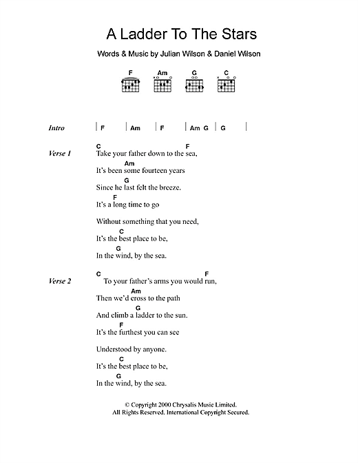 Grand Drive A Ladder To The Stars sheet music notes and chords. Download Printable PDF.