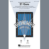 Download Roger Emerson '21 Guns (from Green Day's American Idiot)' Printable PDF 14-page score for Musical/Show / arranged SATB Choir SKU: 295911.