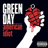 Download or print Green Day American Idiot Sheet Music Printable PDF 4-page score for Pop / arranged School of Rock – Drums SKU: 378886.