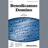 Download or print Greg Gilpin Benedicamus Domino Sheet Music Printable PDF 14-page score for Concert / arranged TBB Choir SKU: 93009.
