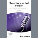 Download Greg Gilpin 'I Love Rock 'n' Roll Medley - Bass' Printable PDF 3-page score for Pop / arranged Choir Instrumental Pak SKU: 352359.