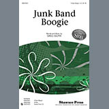Download or print Greg Gilpin Junk Band Boogie Sheet Music Printable PDF 11-page score for Concert / arranged 2-Part Choir SKU: 296775.