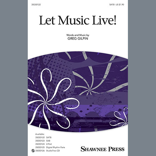 Easily Download Greg Gilpin Printable PDF piano music notes, guitar tabs for Choir Instrumental Pak. Transpose or transcribe this score in no time - Learn how to play song progression.