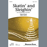 Download or print Greg Gilpin Skatin' And Sleighin' Sheet Music Printable PDF 6-page score for Concert / arranged 2-Part Choir SKU: 77223.