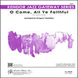 Download or print Gregory Yasinitsky O Come, All Ye Faithful - Full Score Sheet Music Printable PDF 17-page score for Jazz / arranged Jazz Ensemble SKU: 405038.