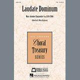 Download or print Marc-Antoine Charpentier Laudate Dominum Sheet Music Printable PDF 14-page score for Baroque / arranged TTB Choir SKU: 160069.
