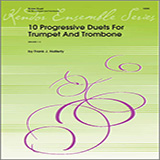 Download or print Halferty 10 Progressive Duets For Trumpet And Trombone Sheet Music Printable PDF 25-page score for Classical / arranged Brass Ensemble SKU: 124804.