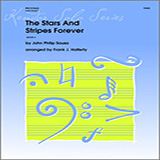 Download Halferty 'Stars And Stripes Forever, The - Solo Bb Clarinet' Printable PDF 3-page score for Classical / arranged Woodwind Solo SKU: 316868.