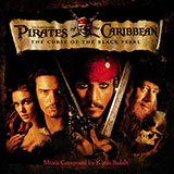 Download or print Hans Zimmer He's A Pirate (from Pirates Of The Caribbean: The Curse of the Black Pearl) Sheet Music Printable PDF 3-page score for Disney / arranged Big Note Piano SKU: 177265.