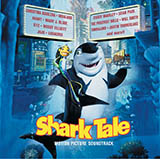 Download or print Hans Zimmer Some Of My Best Friends Are Sharks (from Shark Tale) Sheet Music Printable PDF 4-page score for Film/TV / arranged Piano Solo SKU: 111307.