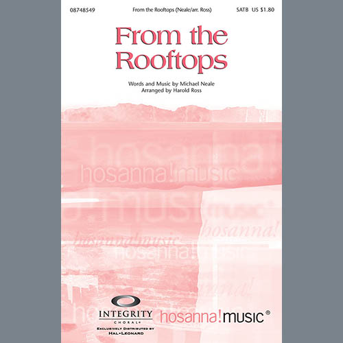 Easily Download Harold Ross Printable PDF piano music notes, guitar tabs for SATB Choir. Transpose or transcribe this score in no time - Learn how to play song progression.