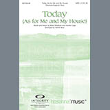 Download Harold Ross 'Today (As For Me And My House)' Printable PDF 11-page score for Contemporary / arranged SATB Choir SKU: 281769.
