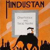 Download Harold Weeks 'Hindustan' Printable PDF 3-page score for Country / arranged Piano, Vocal & Guitar (Right-Hand Melody) SKU: 16535.