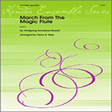 Download Harry R. Gee 'March From The Magic Flute - 3rd Bb Clarinet' Printable PDF 1-page score for Classical / arranged Woodwind Ensemble SKU: 339371.