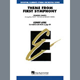 Download Harvey Whistler 'Theme from First Symphony - Full Score' Printable PDF 3-page score for Classical / arranged Orchestra SKU: 272296.