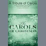 Download or print Heather Sorenson A Tribute of Carols - Keyboard String Reduction Sheet Music Printable PDF 5-page score for Carol / arranged Choir Instrumental Pak SKU: 376933.