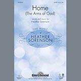 Download Heather Sorenson 'Home (The Arms of God) - Violin 2' Printable PDF 3-page score for Christian / arranged Choir Instrumental Pak SKU: 314207.
