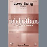 Download Heather Sorenson 'Love Song - Violin 1' Printable PDF 3-page score for Sacred / arranged Choir Instrumental Pak SKU: 340034.