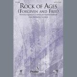 Download Heather Sorenson 'Rock of Ages (Forgiven and Free) - Violin 1' Printable PDF 2-page score for Concert / arranged Choir Instrumental Pak SKU: 314433.
