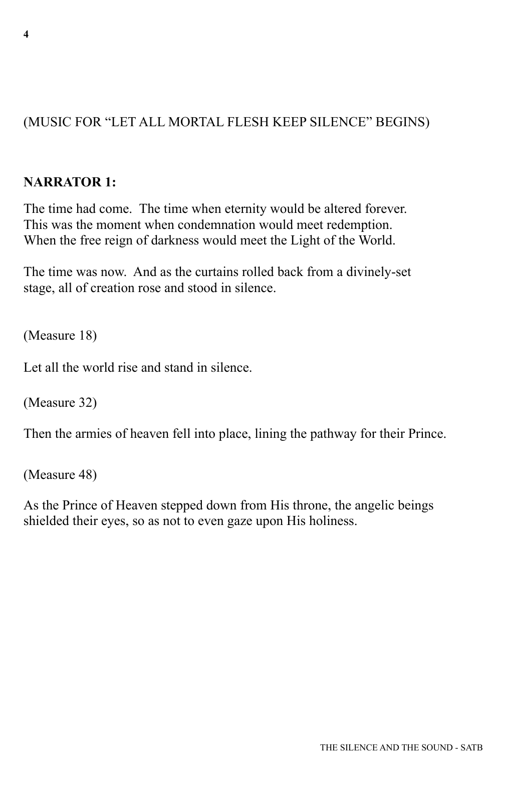 Heather Sorenson The Silence and The Sound sheet music notes and chords. Download Printable PDF.
