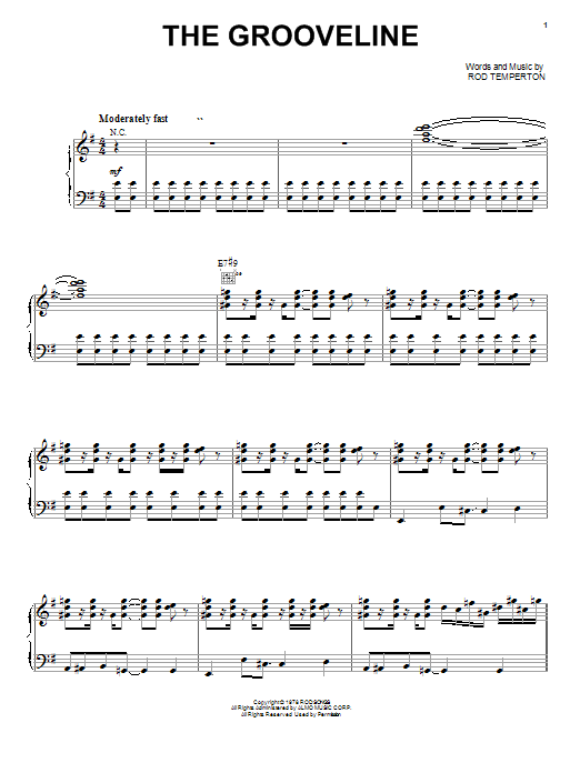 Heatwave The Grooveline sheet music notes and chords