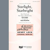 Download or print Henry Leck Starlight, Starbright Sheet Music Printable PDF 13-page score for Folk / arranged 3-Part Treble Choir SKU: 178998.