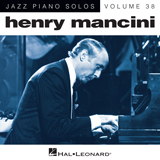 Download or print Henry Mancini A Cool Shade Of Blue [Jazz version] (arr. Brent Edstrom) Sheet Music Printable PDF 5-page score for Jazz / arranged Piano Solo SKU: 162679.
