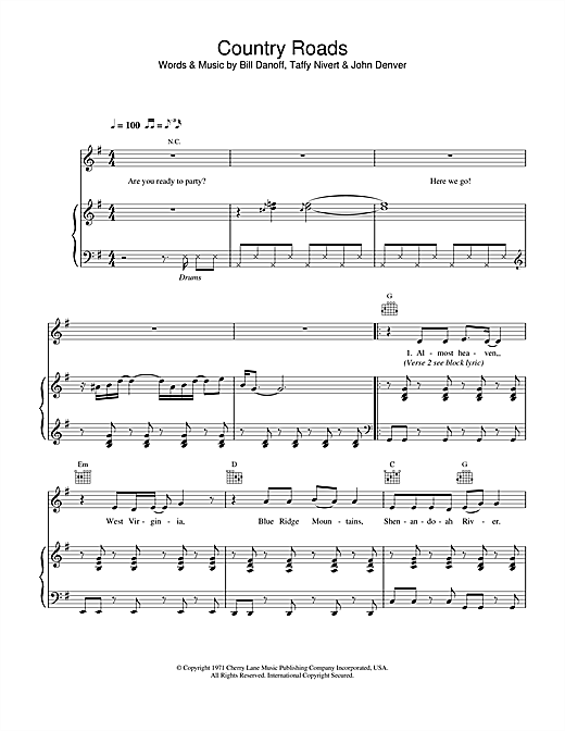 Hermes House Band Country Road sheet music notes and chords