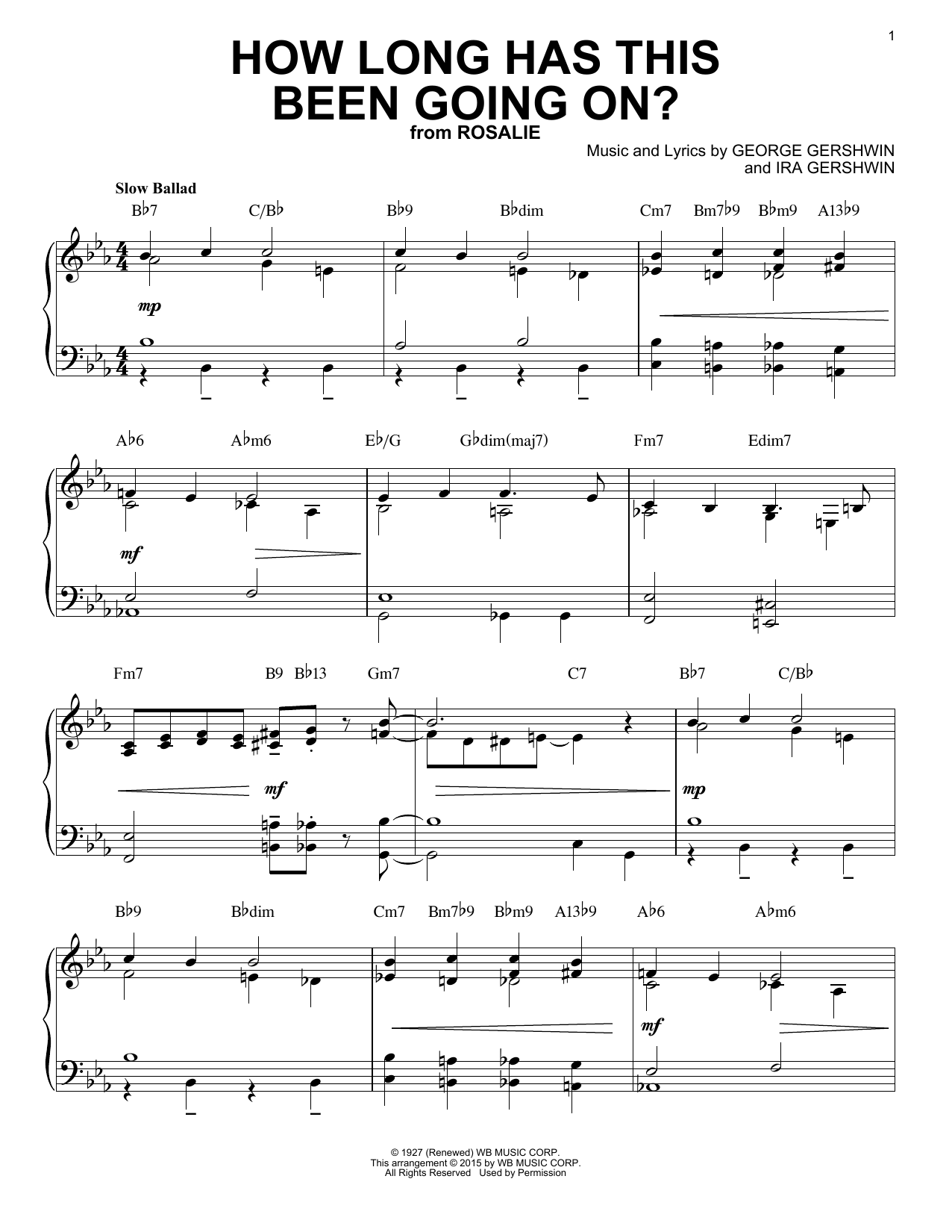 Horace Silver How Long Has This Been Going On? (arr. Brent Edstrom) sheet music notes and chords. Download Printable PDF.