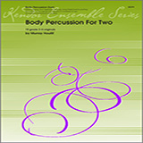 Download or print Houllif Body Percussion For Two Sheet Music Printable PDF 21-page score for Classical / arranged Percussion Ensemble SKU: 124763.