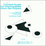 Download or print Houllif Contest Duets For Intermediate Drum Set Players Sheet Music Printable PDF 8-page score for Classical / arranged Percussion Ensemble SKU: 124850.