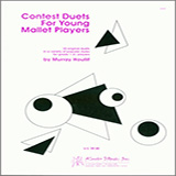Download Houllif 'Contest Duets For The Young Mallet Players' Printable PDF 16-page score for Classical / arranged Percussion Ensemble SKU: 124899.