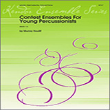 Download or print Houllif Contest Ensembles For Young Percussionists - Percussion 3 and 4 Sheet Music Printable PDF 10-page score for Classical / arranged Percussion Ensemble SKU: 324108.