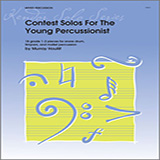 Download or print Houllif Contest Solos For The Young Percussionist Sheet Music Printable PDF 19-page score for Classical / arranged Percussion Solo SKU: 124862.