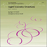 Download or print Houllif Light Cavalry Overture - Percussion 4 Sheet Music Printable PDF 4-page score for Classical / arranged Percussion Ensemble SKU: 317954.